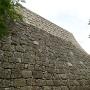 三の丸東側の石垣