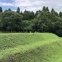 土塁と空堀跡(全長約50m)