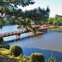 辰巳櫓跡より吉之丸堀を望む(西側)