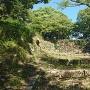 二ノ門跡石垣