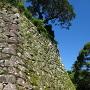 丑寅櫓跡の石垣