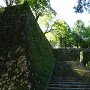 北側の登城口