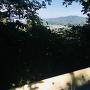 眺望、青山城を見る