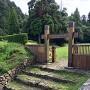 冠木門(御主殿入口の門)