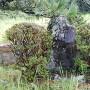 柳生城跡石碑