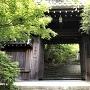 天守跡にある村雲御所 瑞龍寺の門
