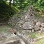 桝形虎口の石垣