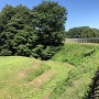 堀跡@本丸跡外側