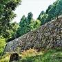 山里丸石垣(北西側)