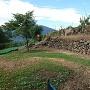 真田館跡の石垣