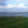 ヲンネモトチャシ碑から納沙布岬方面を望む