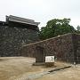 太鼓櫓と大手門跡