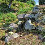 第三曲輪石垣(北東側)