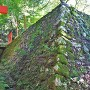 稲荷曲輪石垣(北東側)
