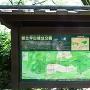 公園の解説板
