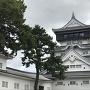 小倉城天守 本丸側から