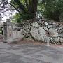 三ノ丸口門跡の石垣