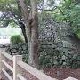 本丸門の石垣