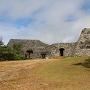 石門と二の郭物見台