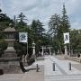 米沢城 上杉神社参道