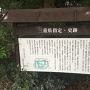神戸城跡案内板