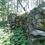 塩崎城二の郭の石垣