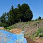 土塁と堀の発掘調査