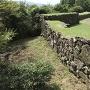 三の丸周辺の石垣