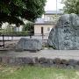 松任城の出城の城跡碑