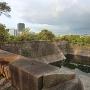 一番櫓から見る玉造口