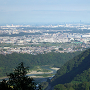 伝鷹射場から相模川、都心方向の眺望