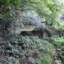 舗装道への登り口(栂尾丸への近道)