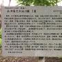 会津藩士遠泳大会についての案内板