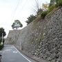 二ノ丸下の石垣