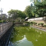 上田藩主屋敷の堀跡