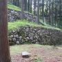 石垣(調度丸付近)