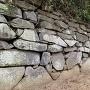 西櫓台石垣②