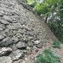 蔵屋敷(南城)下石垣と一つ目堀