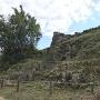 石切場と石垣