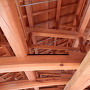 五十間長屋屋根木組み