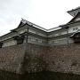 菱櫓と五十間長屋(内堀から)