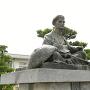 松尾芭蕉座像