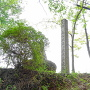 築堤跡石碑