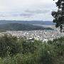 郭からの眺望 山口盆地