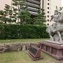 結城秀康公の石像