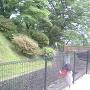 主郭下の堀と切岸