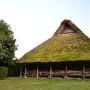茅葺屋根の移築民家