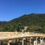 復元した擬宝珠橋
