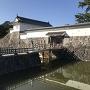 水堀と住吉橋