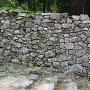 伝徳川家康邸石垣の切れ目